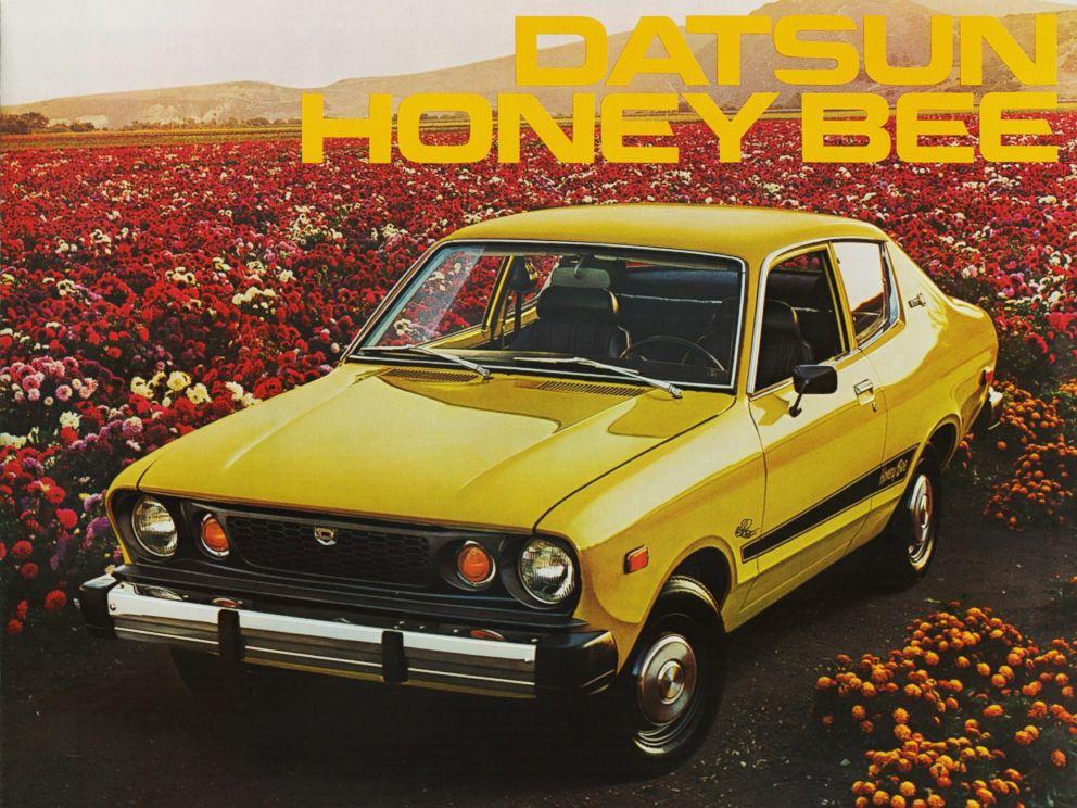 PHOTO: A 1976 Datsun Honeybee. The Honeybee was a special-edition Datsun B-210