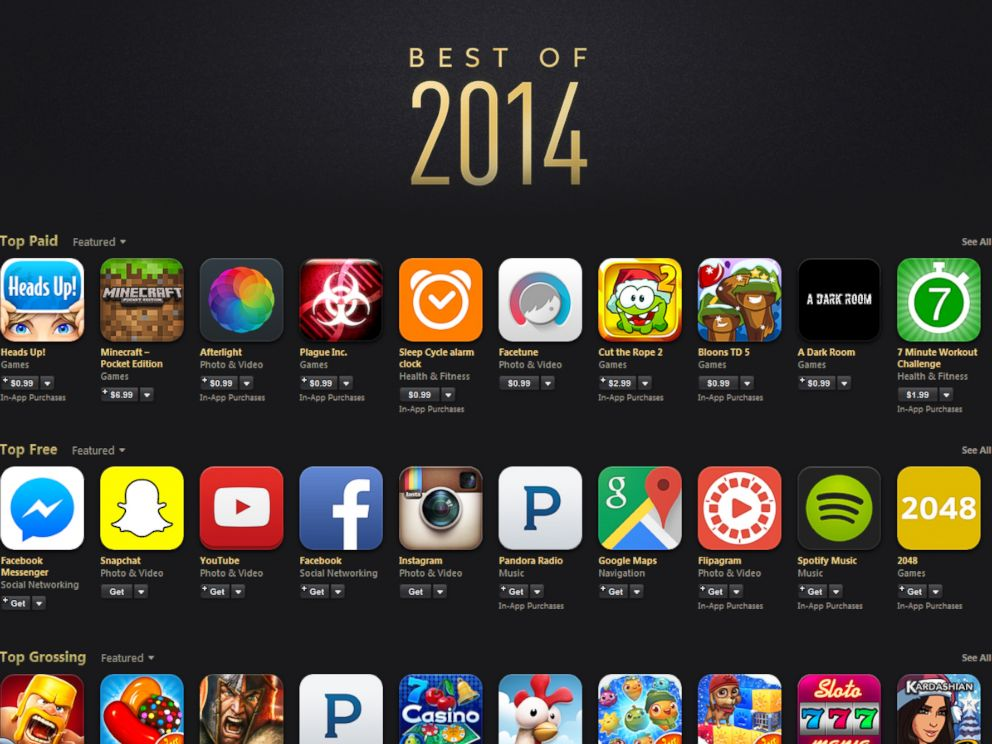 Apple 39 s 39 best of 2014 39 free and paid apps abc news for Apps to change photos