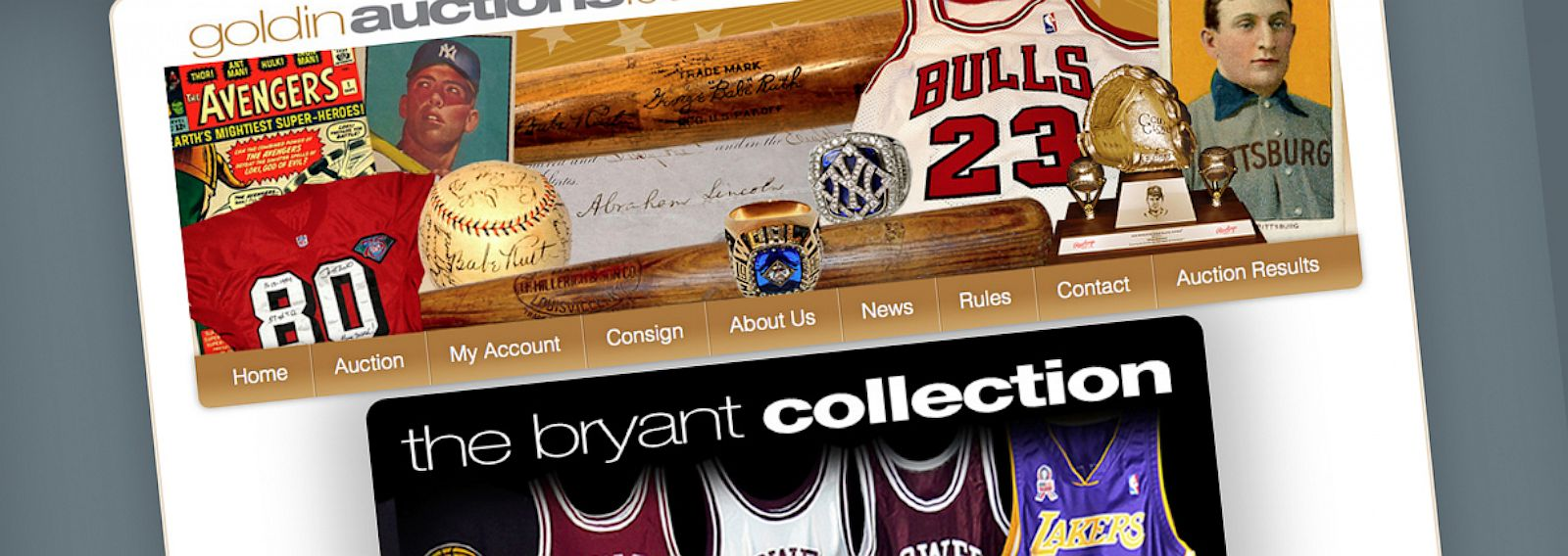 PHOTO: Goldin Auctions is auctioning more than 100 items from the early basketball life of Kobe Bryant consigned by his mother Pamela Bryant.
