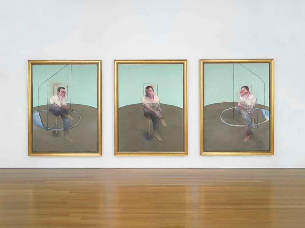 PHOTO: Three Studies for a Portrait of John Edwards by Francis Bacon sold for $80,805,000.