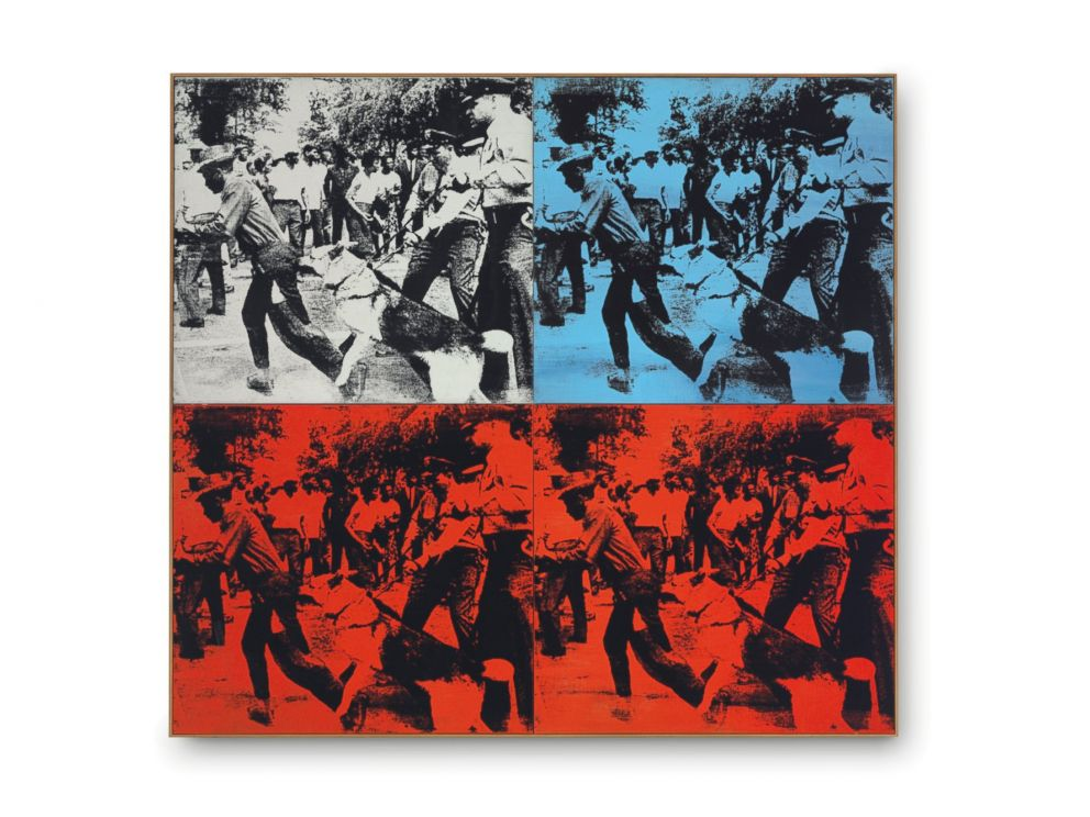 PHOTO: Race Riot by Andy Warhol sold for $62,885,000.