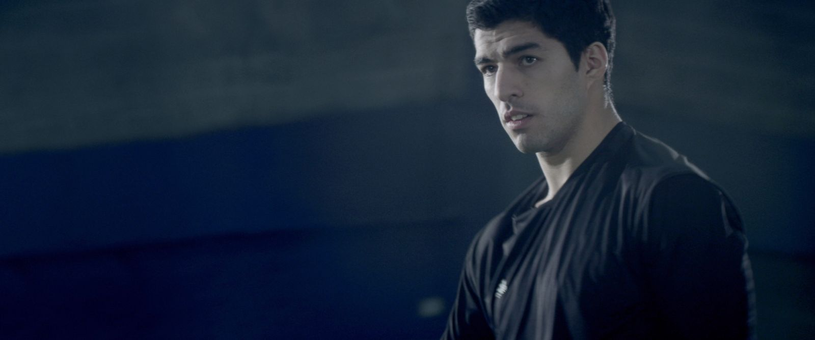 PHOTO: Luis Suarez is seen in an advertisement for Adidas.