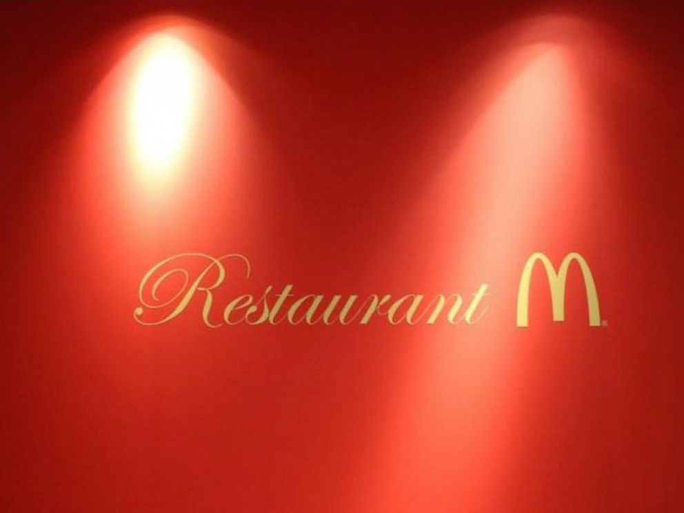 PHOTO: Restaurant M is the name of a temporary McDonalds luxury pop-up in Tokyo.