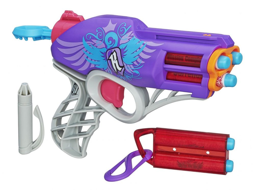 PHOTO: The Nerf Rebelle Messenger Blaster.