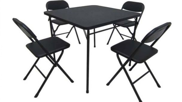 PHOTO: Walmart is recalling this card table and chair set due to finger amputation and fall hazards.