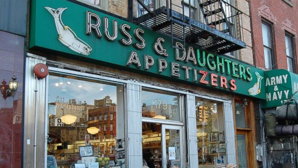 PHOTO: Russ & Daughters, located in the Lower East Side neighborhood of Manhattan, Sept. 19. 2013.