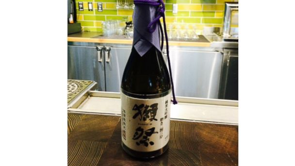 PHOTO: A bottle of Dassai Sake available for $2,400.