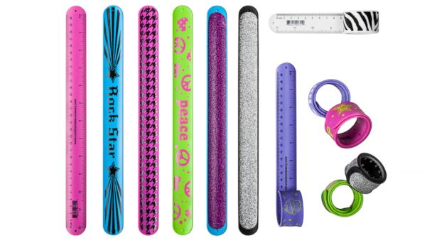 PHOTO: Target Snap bracelet rulers: $1.99 each.