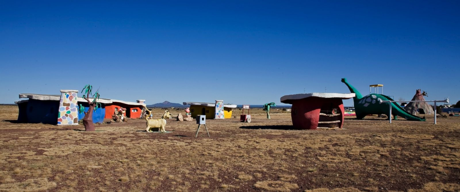 PHOTO: Bedrock City (Est 1972) has been a family business that has offered 40 years of family fun.