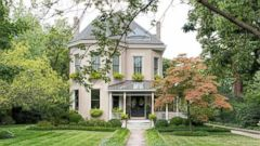 PHOTO: Picturesque Homes For Sale on Tree-Lined Streets