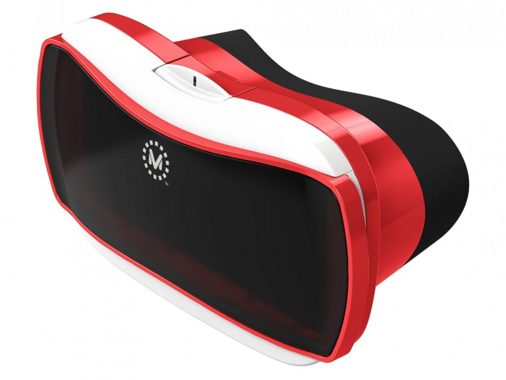 PHOTO: The new View-Master, introduced in October 2015, works with Google Cardboard-compatible apps on a compatible smartphone.