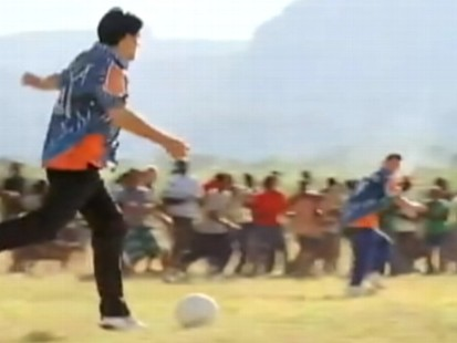 VIDEO: Pepsi World Cup ad is a hit on the Internet.