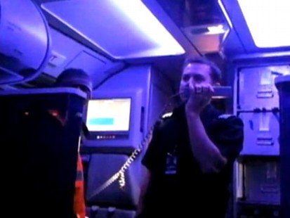 VIDEO: David Martin films a 16-hour Virgin America flight from LAX to JFK.