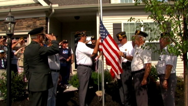 VIDEO: Homeowners association in Ohio says flagpole violates regulations.