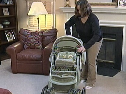 VIDEO: Graco is recalling 1.5 million strollers due to hinge dangers.