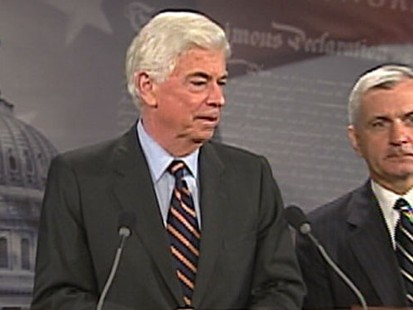 VIDEO: Matt Jaffe on Sen. Chris Dodds push for financial regulatory reform.