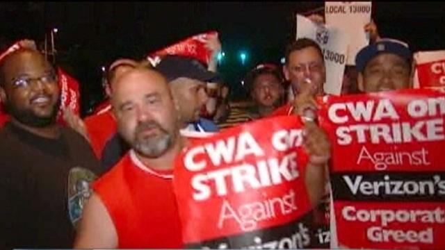 VIDEO: 45,000 Verizon Workers Strike