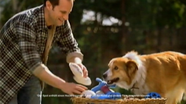 VIDEO: Beneful ad airing in Europe features high-pitched sounds geared toward dogs.
