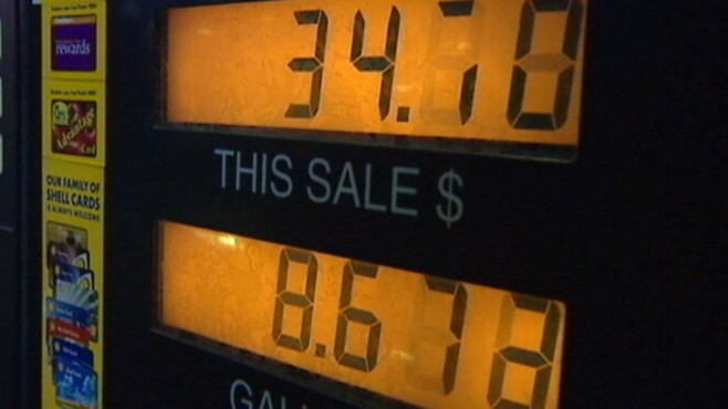 VIDEO: Gas prices continue push towards a national average of four dollars per gallon.
