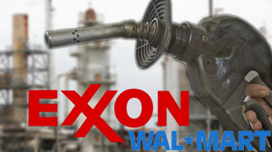 PHOTO Exxon beat out Wal-Mart to top Fortunes list of top 500