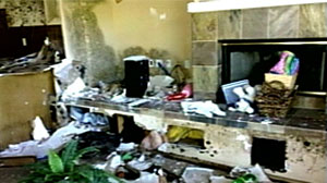 Photo: Million-dollar foreclosed home vandalized: Authorities can do little to prevent foreclosed owners from destroying their property