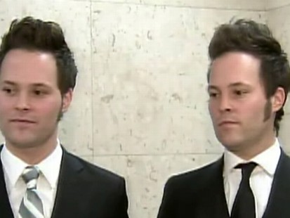 Video: The Lorenzens twin brothers file harassment suit against their former employer.