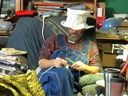 VIDEO: A Colorado man makes crochets products using plastic bags.