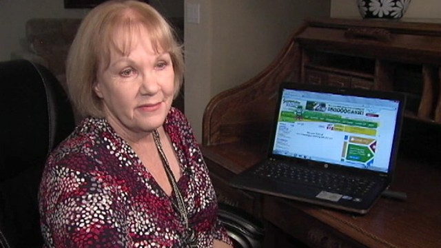 VIDEO: Joyce Bogart, 69, hauls in thousands of dollars in cash through web contests.