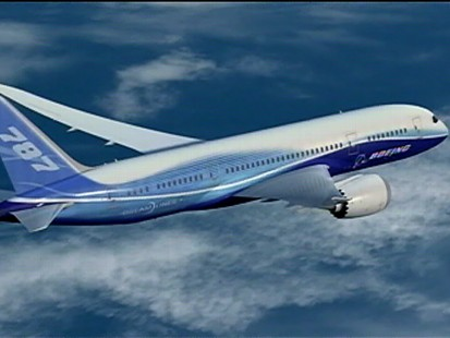 Video: Boeing sends the new Dreamliner on a test drive.