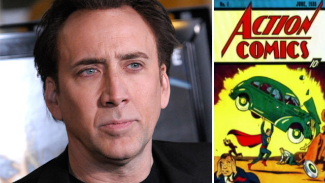 PHOTO A million-dollar comic book stolen from actor Nicolas Cage nearly a decade ago has been found in an old southern California storage locker.