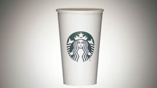 VIDEO: The popular coffee chain redesigns their company logo.