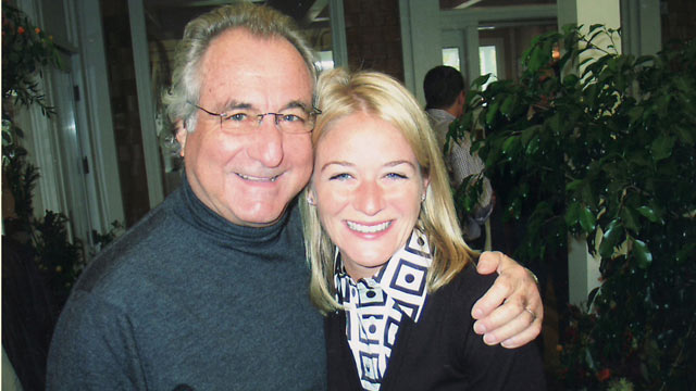 PHOTO: Stephanie Madoff Mack and Bernie Madoff seen hugging in this undated file photo.