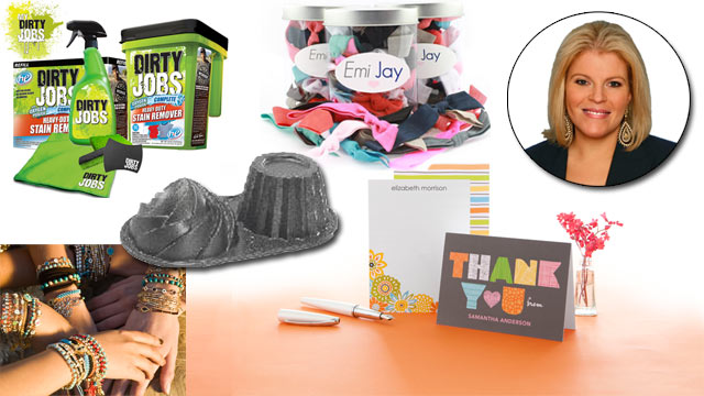 PHOTO: This weeks deals from Tory Johnson feature big discounts on jewelry, personalized stationery and bakeware, among other items.