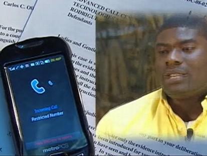 VIDEO: Allen Jones receives profanity-laced collection agency calls.