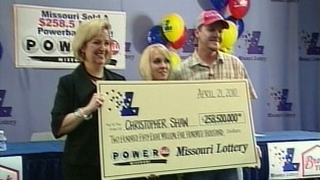 VIDEO: A record number of people are playing the lottery in tough economic times.