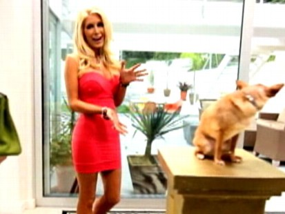 Video: Heidi Montag pokes fun at her own plastic surgeries.