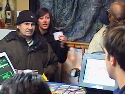 VIDEO: When store clerk cheats customer out of winning ticket, will bystanders step in?