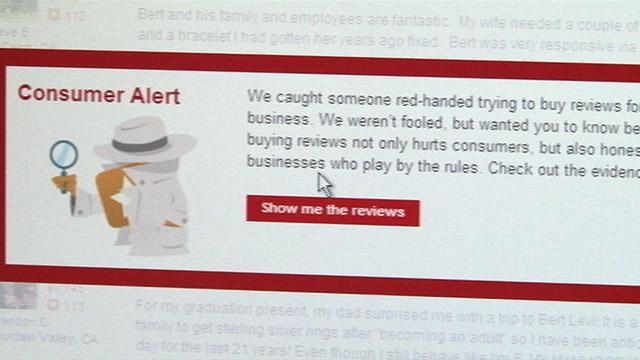 PHOTO: Yelp consumer alert