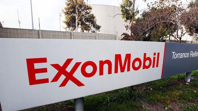 PHOTO: Exxon Mobil sign