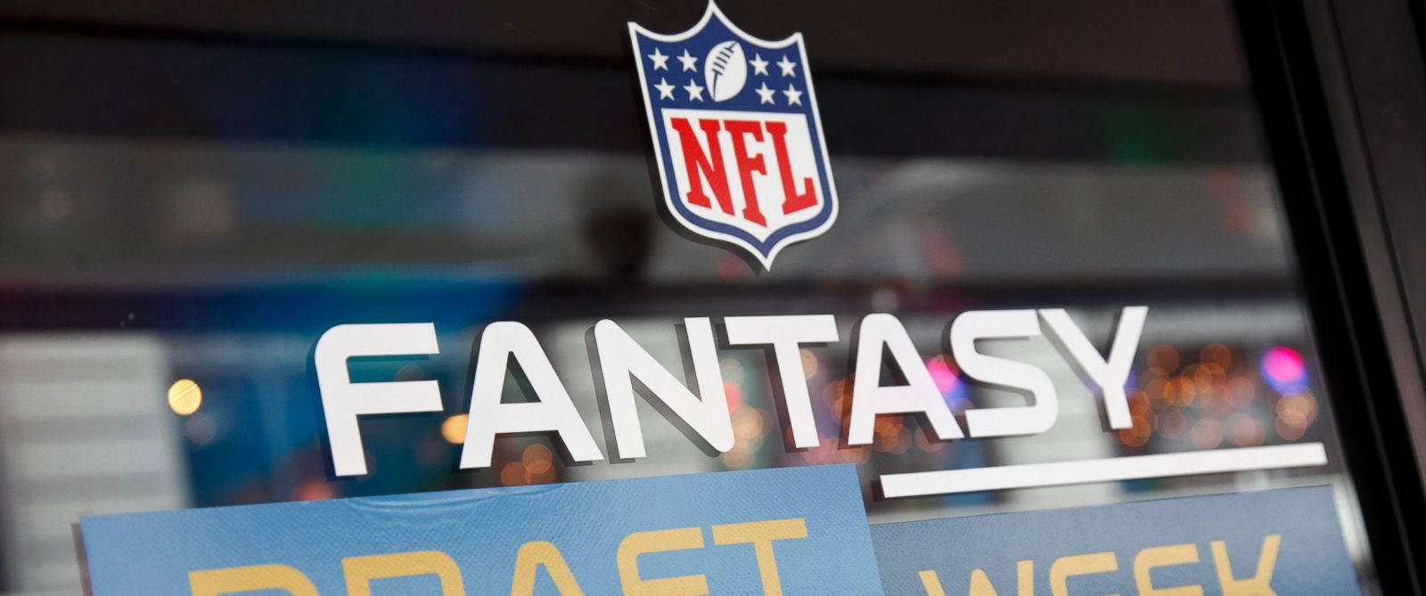 PHOTO: A general view of atmosphere is seen during the DirecTV NFL Fantasy Week on Aug. 22, 2012 at the Best Buy Theater in Times Square in New York.