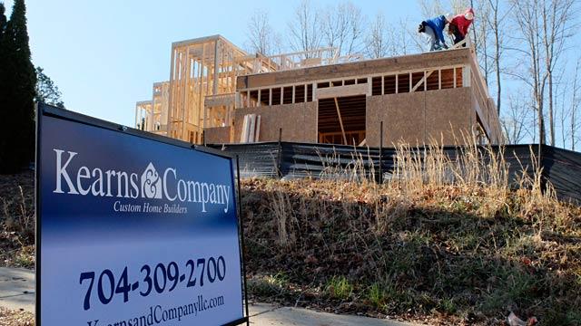 PHOTO: Home construction