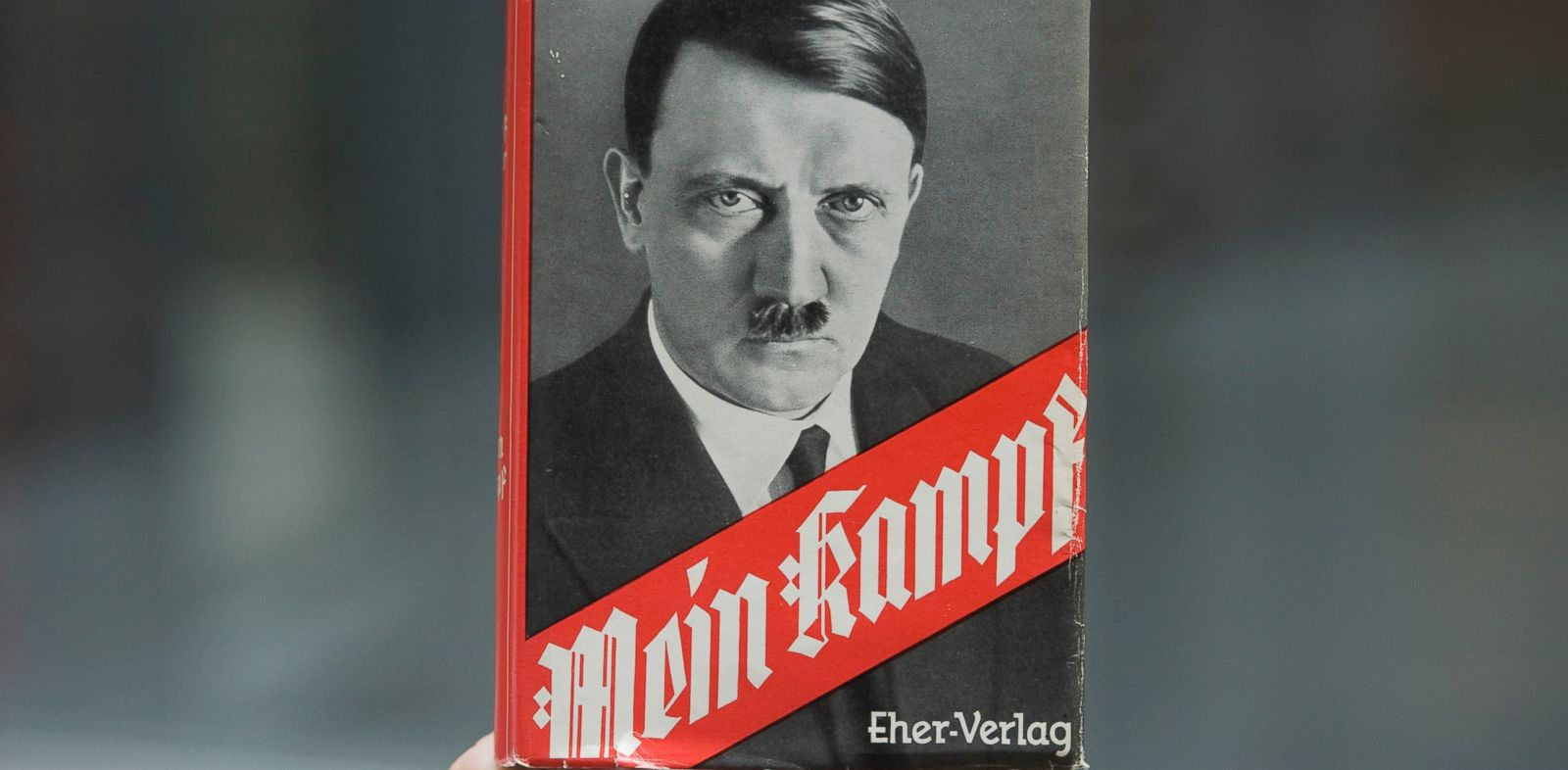 PHOTO: A copy of Mein Kampf is seen in this April 23, 2012 file photo.