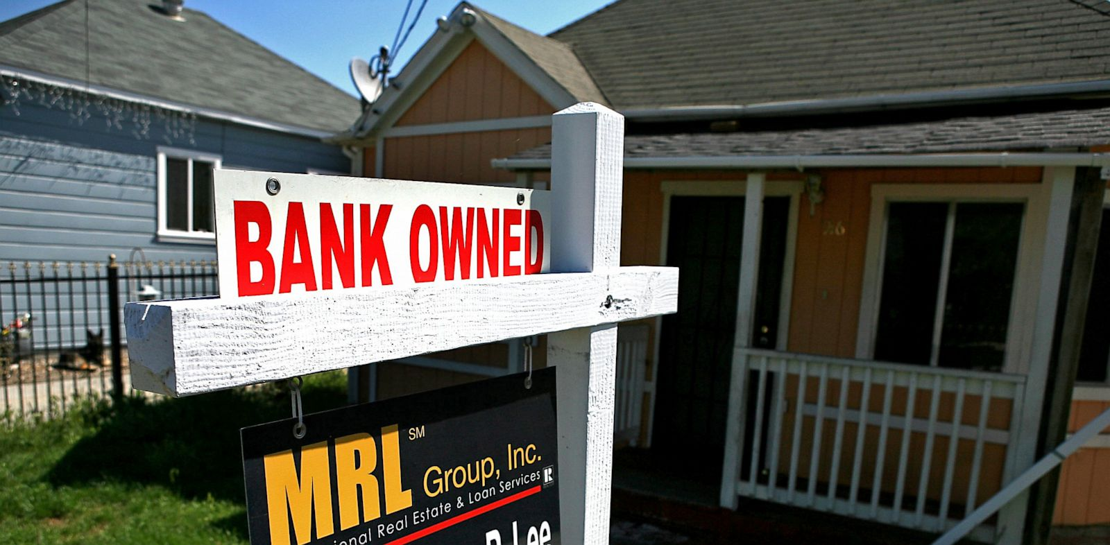 PHOTO: Bank owned home