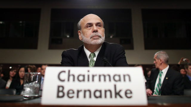 Federal Reserve Board Chairman Ben Bernanke testifies before the Joint Economic Committee on Capitol Hill, June 7, 2012 in Washington, DC.