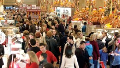 PHOTO: Shoppers clog the aisles at Macys Department store Nov. 28, 2003 in New York City.