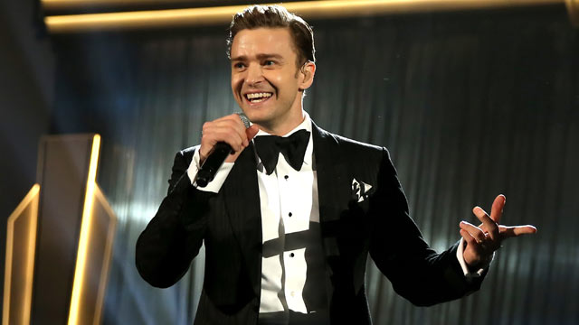 PHOTO: Singer Justin Timberlake onstage during the 55th Annual GRAMMY Awards at STAPLES Center on February 10, 2013 in Los Angeles, California.