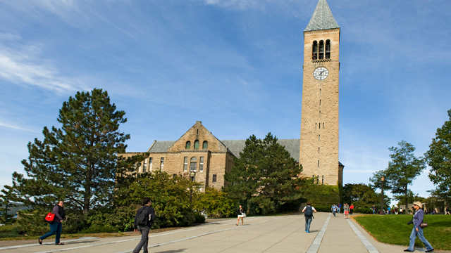 PHOTO: McGraw Tower and Chimes, Cornell University campus, Ithaca, New York