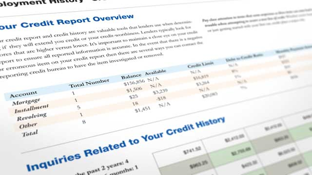 PHOTO: A report from the Federal Trade Commission released revealed that five percent of consumers had errors on one of their three major credit reports, potentially leading to higher costs for loans and insurance.
