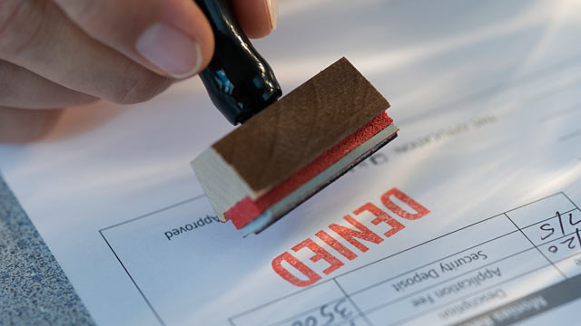 PHOTO: People who need credit the most are getting denied because banks consider them too risky.