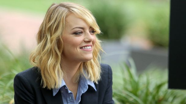 "PHOTO: Emma Stone attends ""The Amazing Spiderman"" fan event at Sony Pictures Studios on Nov. 16, 2013 in Culver City, Calif."